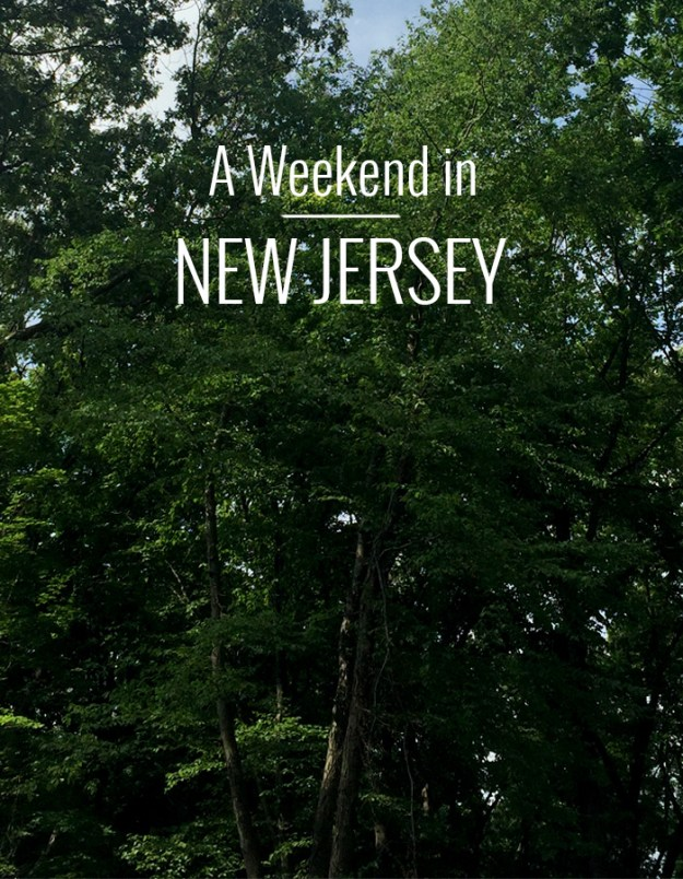 Weekend in New Jersey // Nattie on the Road