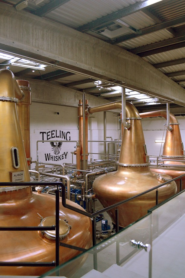 Teeling Distillery, Dublin, Ireland // Nattie on the Road