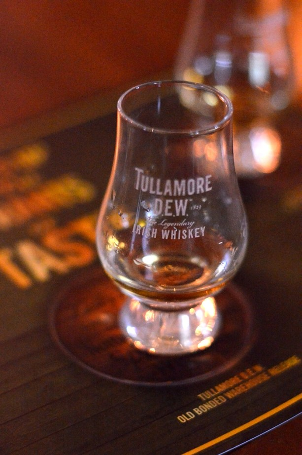 Tullamore DEW Distillery // Nattie on the Road