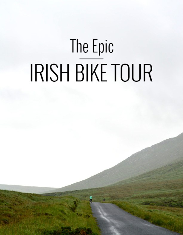 Take an epic bike tour around Ireland // Nattie on the Road