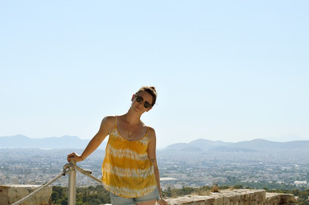 What to do with 24 hours in Athens Greece // Nattie on the Road