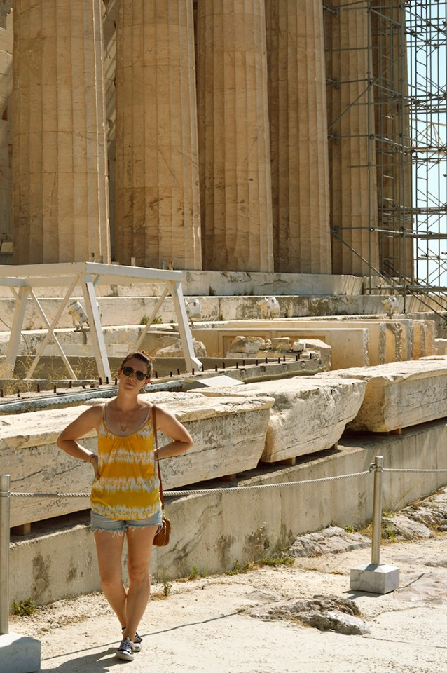 See the Parthenon in Athens // Nattie on the Road