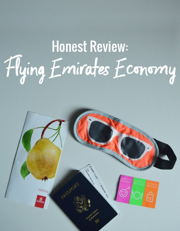Honest Review: Flying Emirates Economy // Nattie on the Road