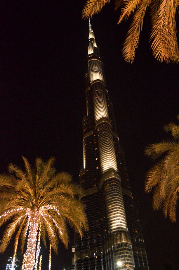 The Burj Khalifa Dubai // Nattie on the Road