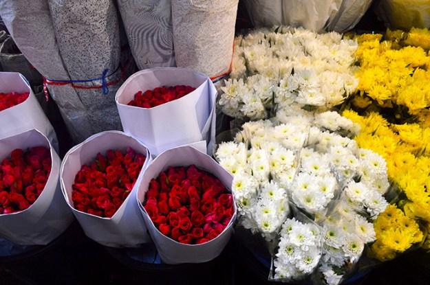 Bangkok Flower Market // Nattie on the Road