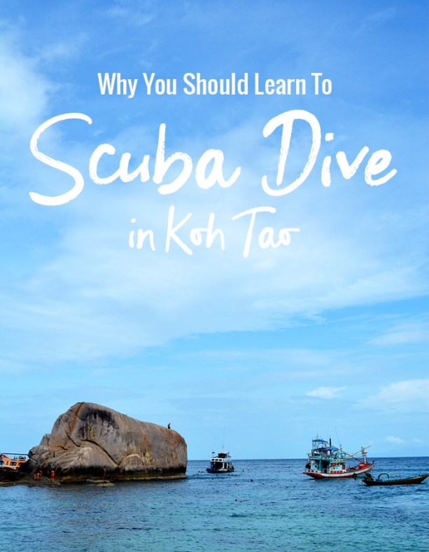 Why you should learn to scuba dive in Koh Tao