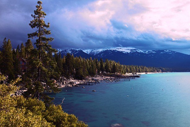 explore the lake and the mountains in Lake Tahoe