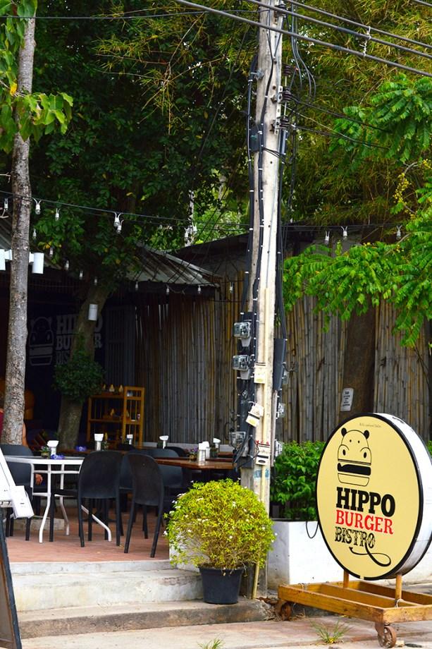 Hippo Burger - Koh Tao Thailand