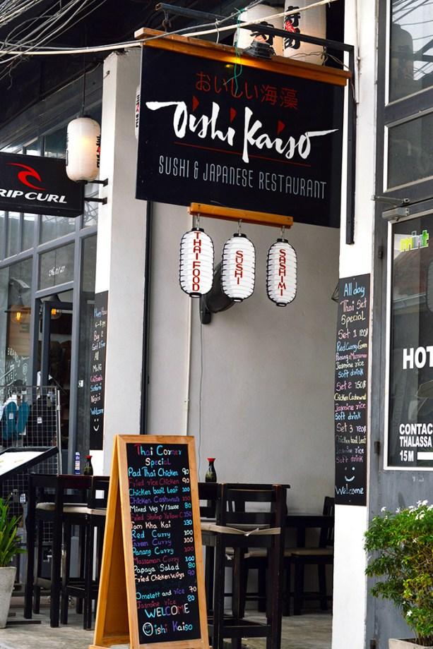 Oishi Kaiso - Koh Tao Thailand