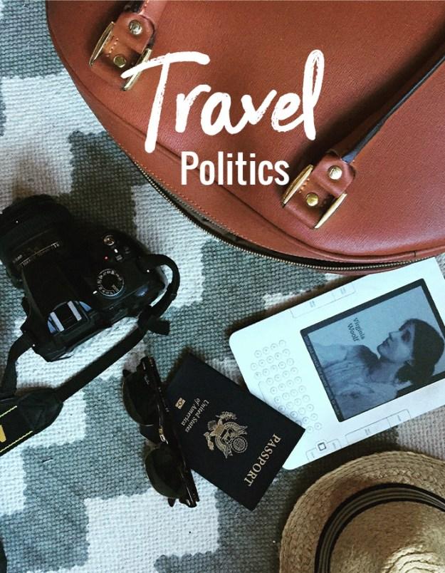 travel politics