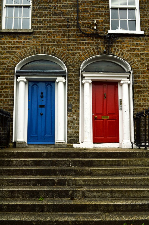 awesome doors of Dublin