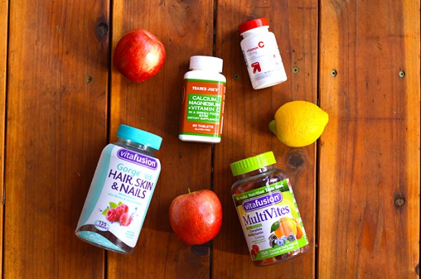 stay healthy, take your vitamins