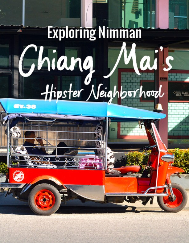 Explore Nimman, Chiang Mai's Hipster Neighborhood