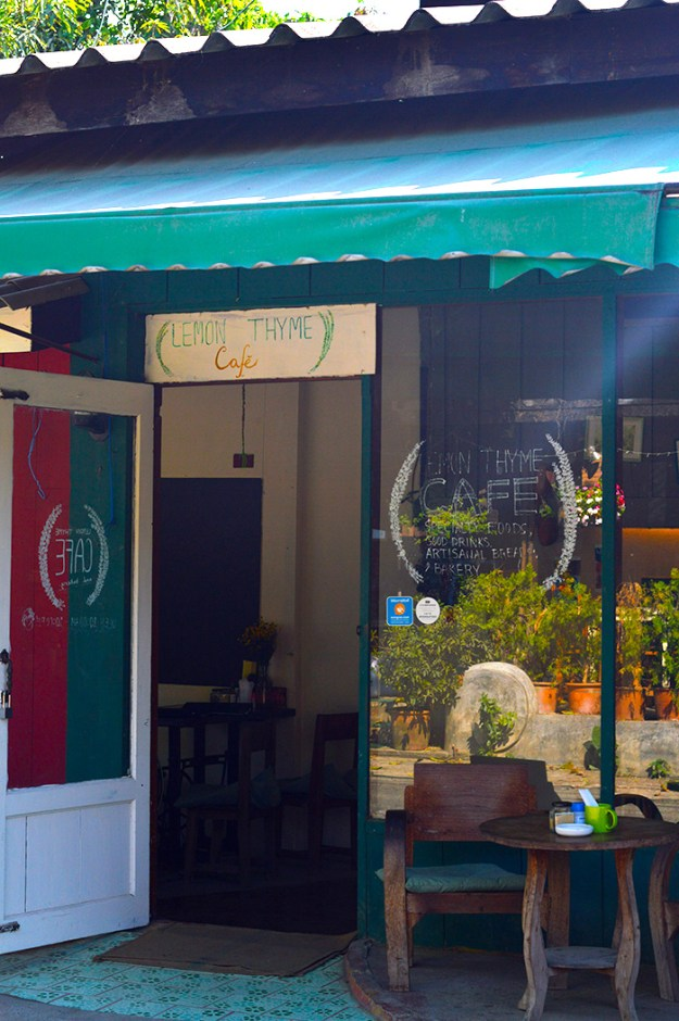 Lemon Thyme Cafe, Pai