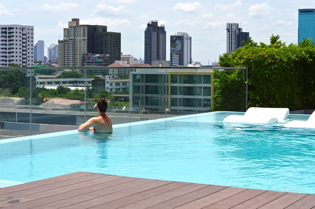 infinity pools in Bangkok