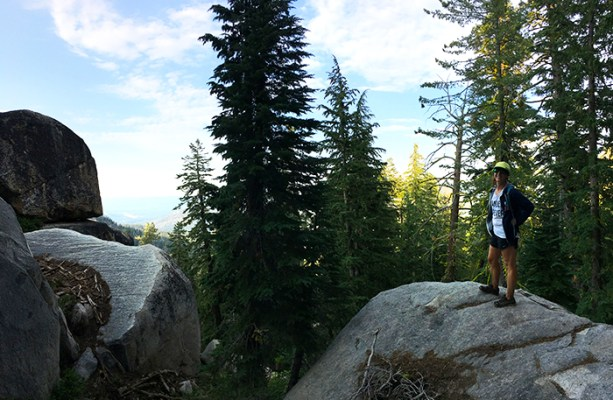 Hiking Lake Tahoe