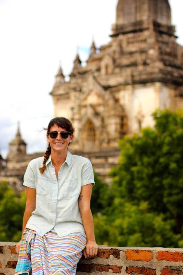 temple views in Bagan