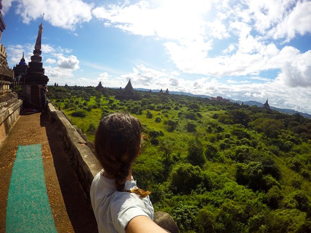 temple views in Bagan