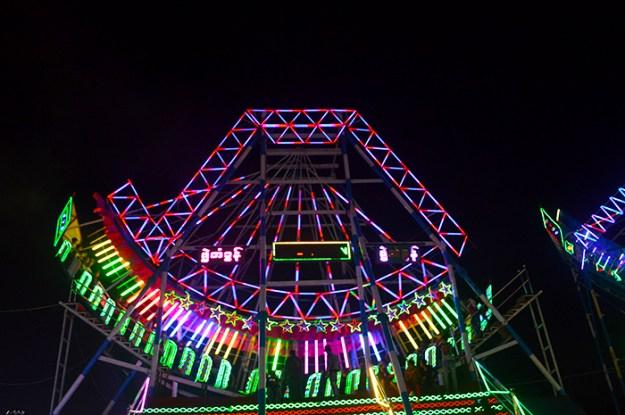 Myanmar's fair rides