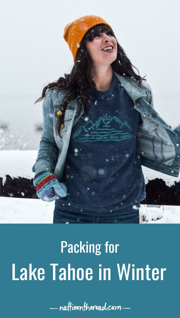 packing for Lake Tahoe in Winter