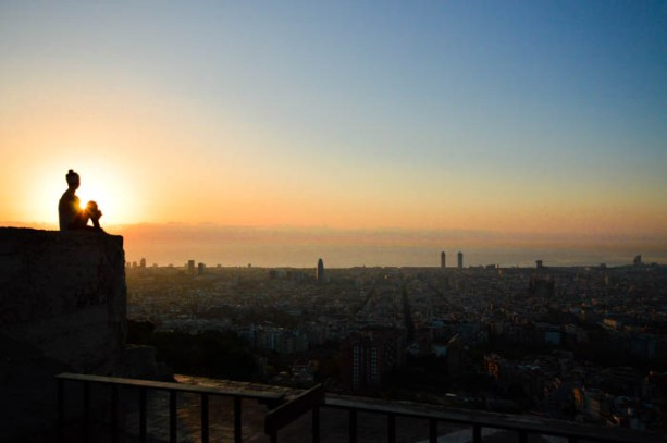 Sunrise at Bunkers Del Carmel, Barcelona