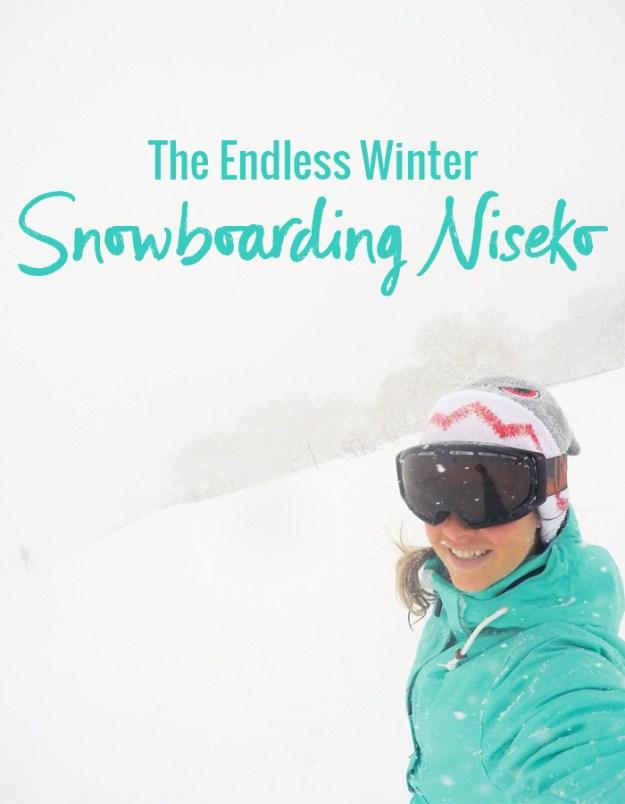 The Endless Winter - Snowboarding in Niseko Japan