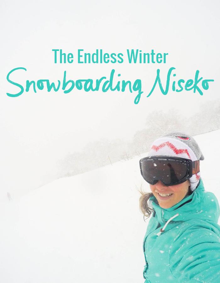 The Endless Winter   Snowboarding In Niseko Japan