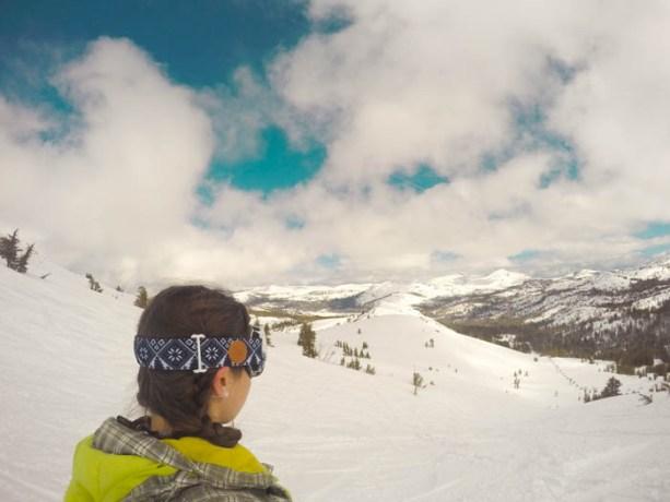 Snowboarding Kirkwood