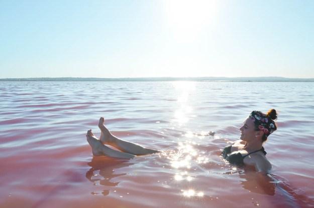 Pink Lake, Torrevieja Spain