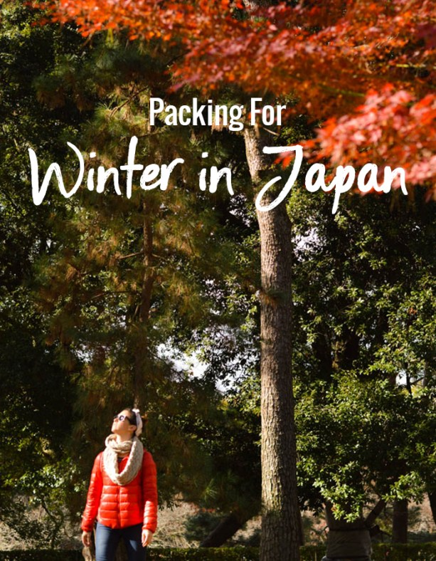 Packing for Winter in Japan