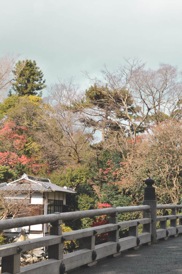 Imperial Palace and park, Kyoto