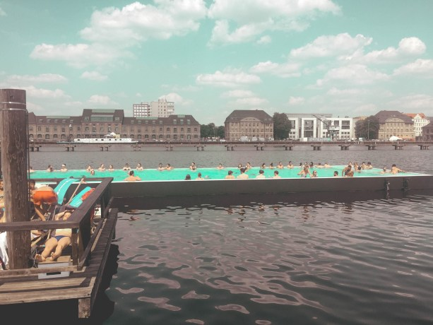 The Badeschiff pool - Berlin