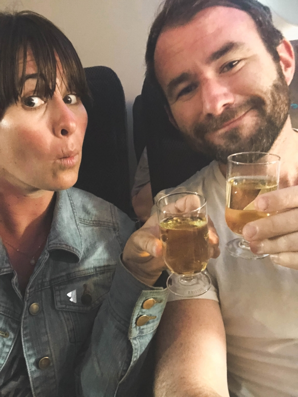 on the plane rewards