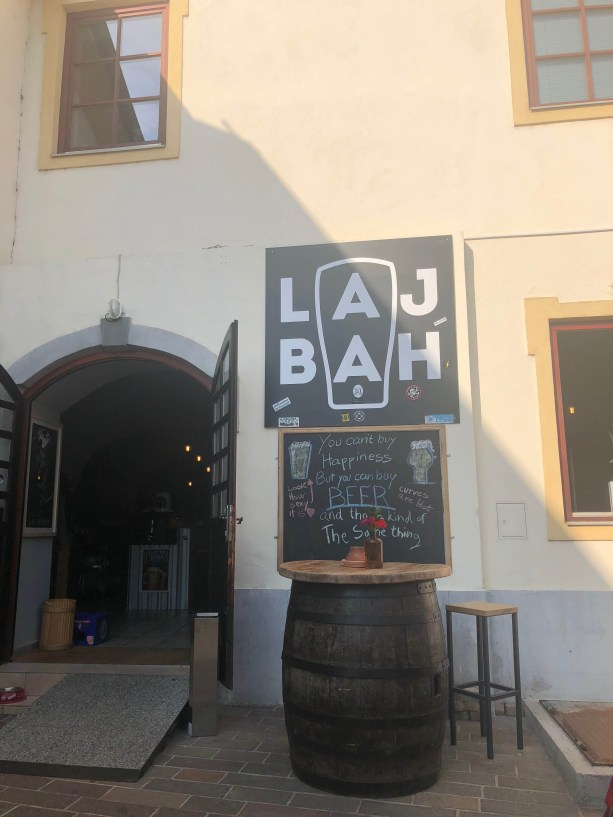 Lah Bah Beer bar Ljubljana