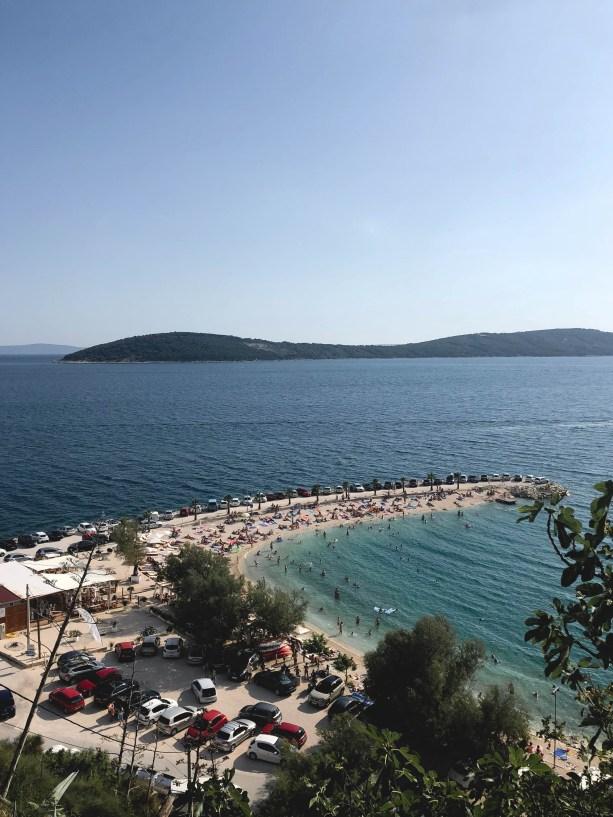 Beach day in Split Croatia