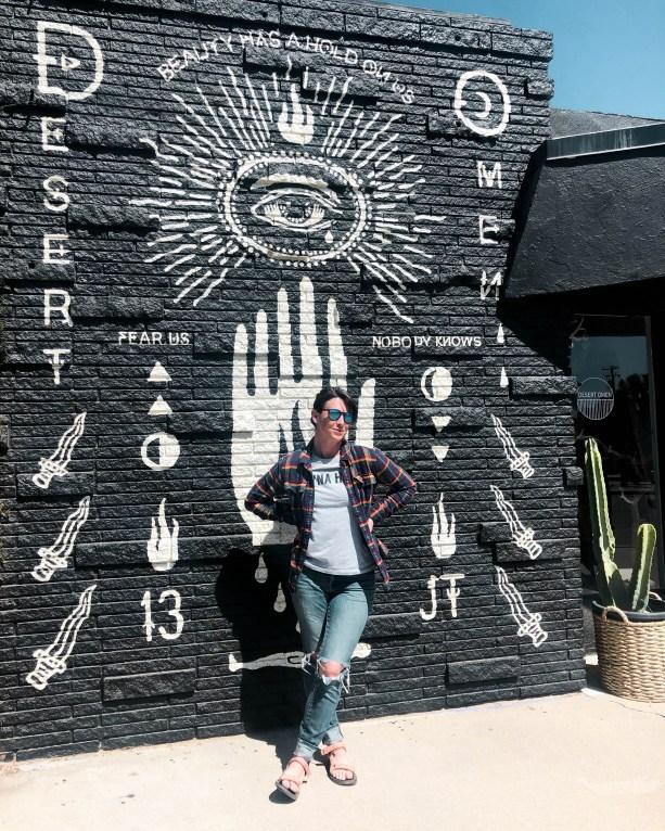 Street art in Yucca Valley