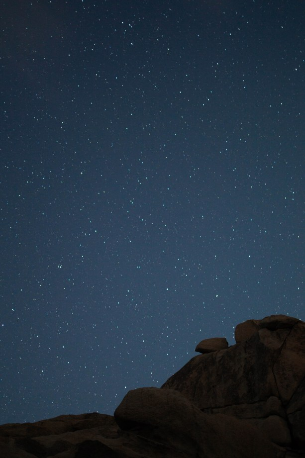 See the stars in Joshua Tree