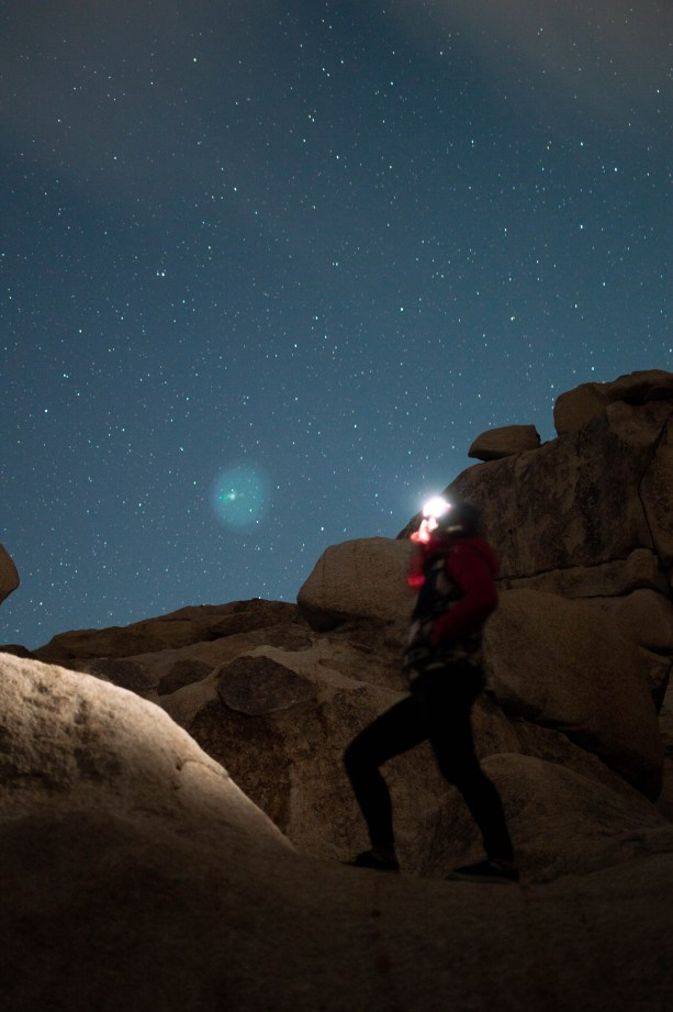 Stargazing in Joshua Tree