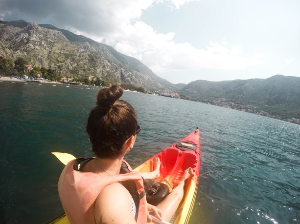 Kayaking in Kotor