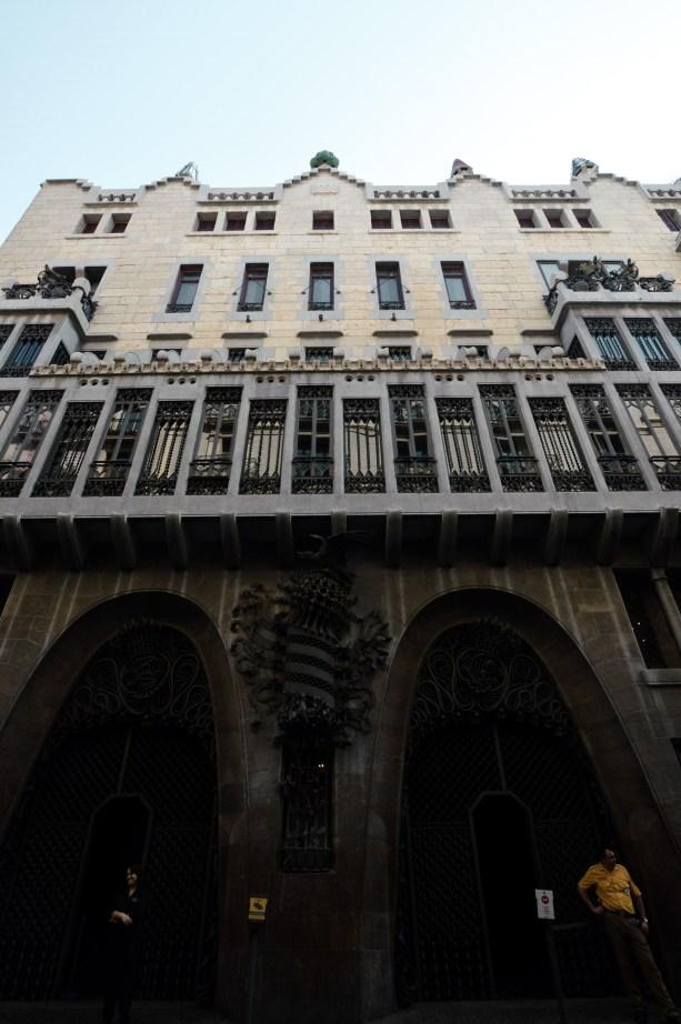 Palau Guell - Gaudi Architecture