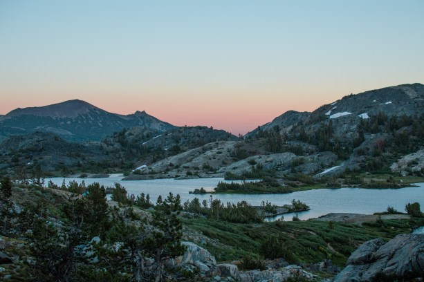 Backpacking in Ansel Adams Wilderness