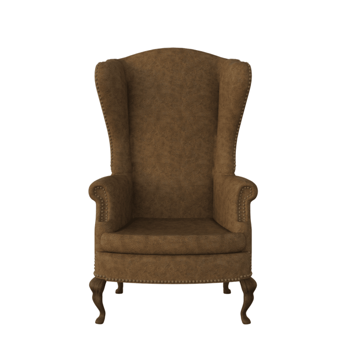 Designer Tall Golden Chair