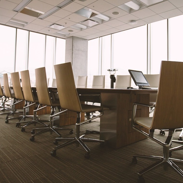 image of a office conference room