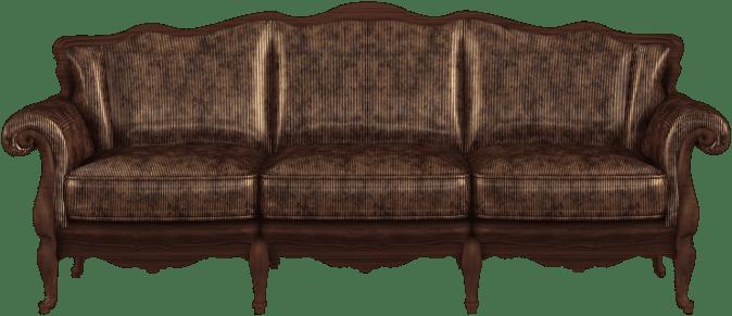 sofa moroon brown