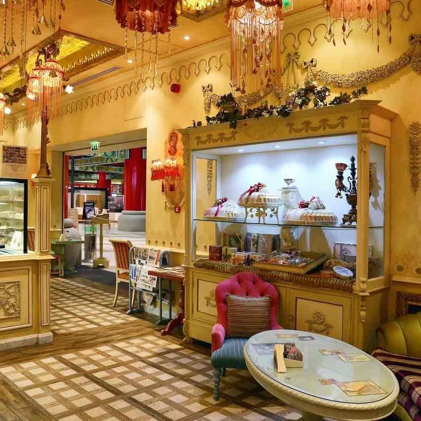 a beautiful anitque design bakery shop