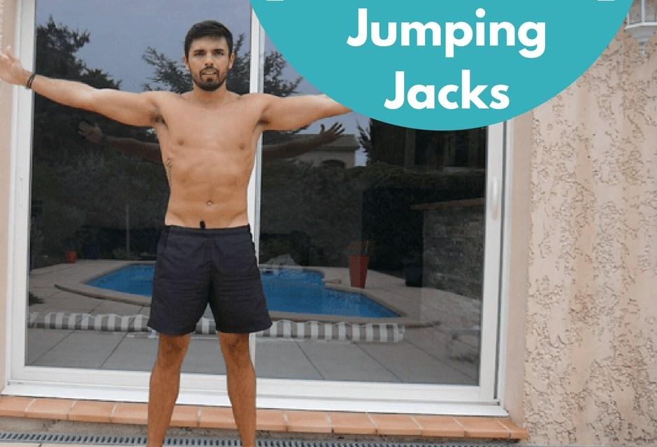 Exercice de musculation naturelle : le Jumping Jacks