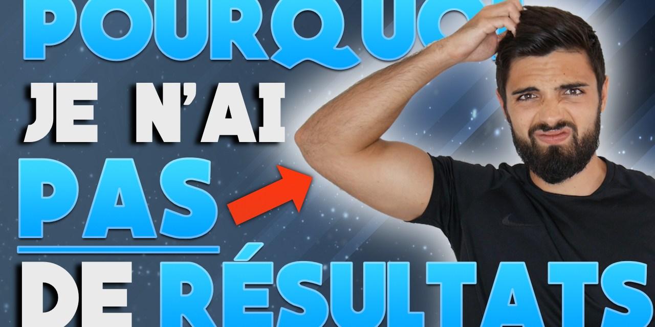Pourquoi je ne progresse pas en musculation ?