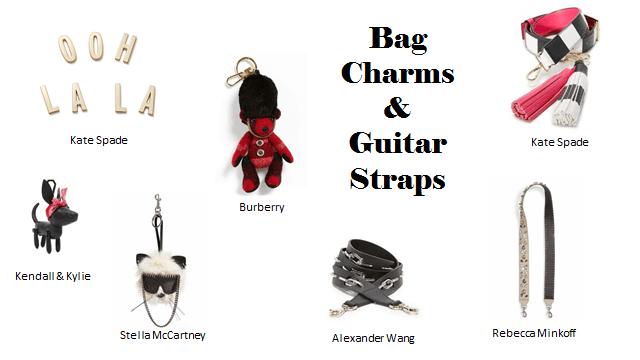 Handbag Trends: Attachments and Guitar Straps