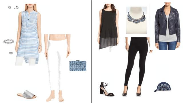 Style Leggings & Tunics: Evening