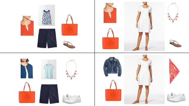 capsule wardrobe, capsule, summer, Pantone, brights, OOTD, WIW